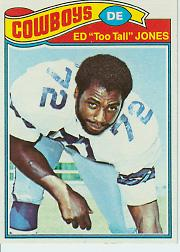 1977 Topps #314 Ed Too Tall Jones