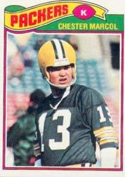 1977 Topps #323 Chester Marcol