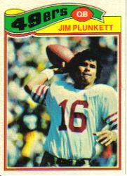 1977 Topps #331 Jim Plunkett