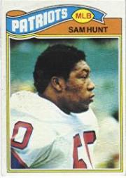 1977 Topps #356 Sam Hunt RC