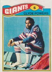 1977 Topps #368 Clyde Powers RC