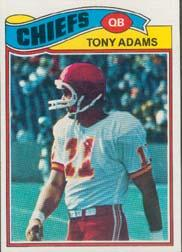 1977 Topps #394 Tony Adams RC