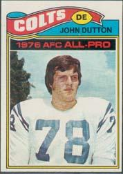 1977 Topps #410 John Dutton