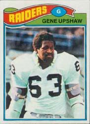 1977 Topps #415 Gene Upshaw