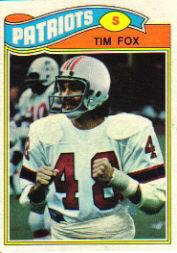 1977 Topps #422 Tim Fox RC
