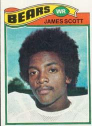 1977 Topps #424 James Scott RC
