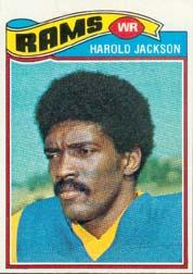 1977 Topps #445 Harold Jackson