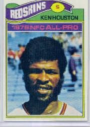 1977 Topps #450 Ken Houston front image