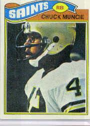1977 Topps #467 Chuck Muncie RC