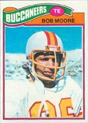 1977 Topps #468 Bob Moore