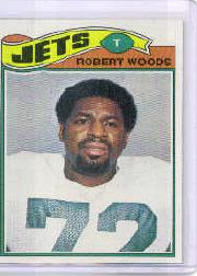1977 Topps #469 Robert Woods RC