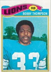 1977 Topps #486 Bobby Thompson RC