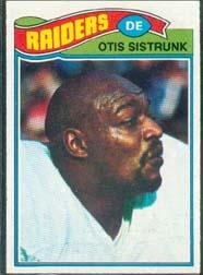 1977 Topps #494 Otis Sistrunk