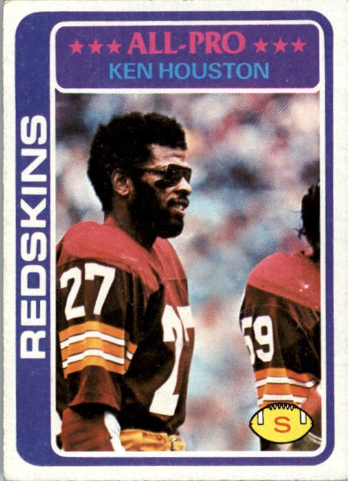 1978 Topps #10 Ken Houston front image
