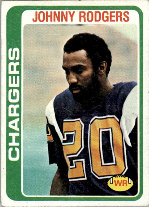 1978 Topps #63 Johnny Rodgers RC