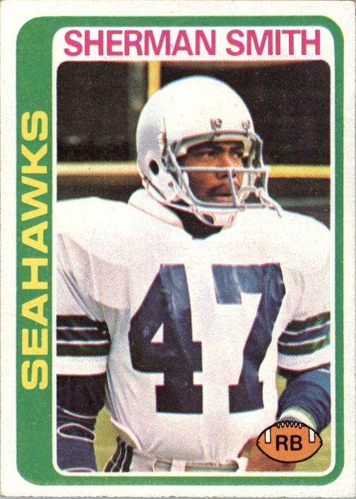 1978 Topps #191 Sherman Smith