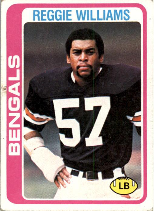 1978 Topps #229 Reggie Williams RC