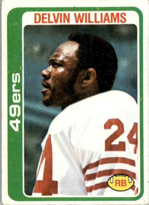 1978 Topps #264 Delvin Williams