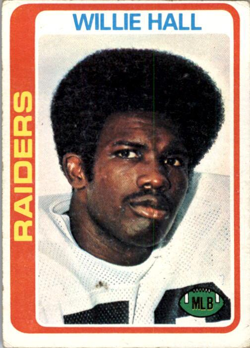 1978 Topps #345 Willie Hall