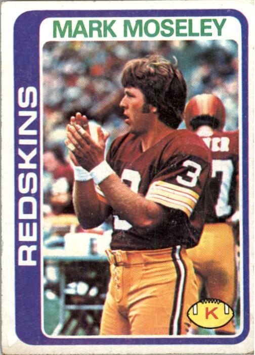 1978 Topps #396 Mark Moseley