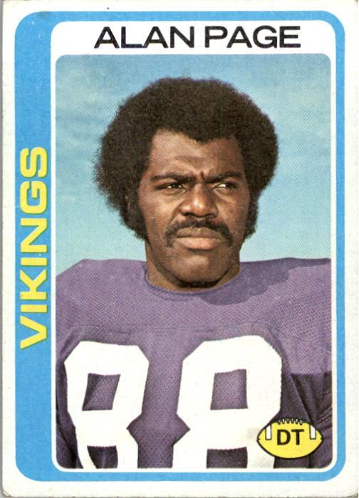 1978 Topps #406 Alan Page