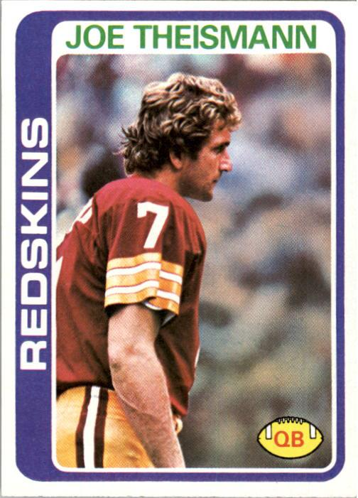 1978 Topps #416 Joe Theismann