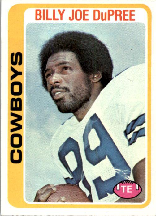 1978 Topps #470 Billy Joe DuPree