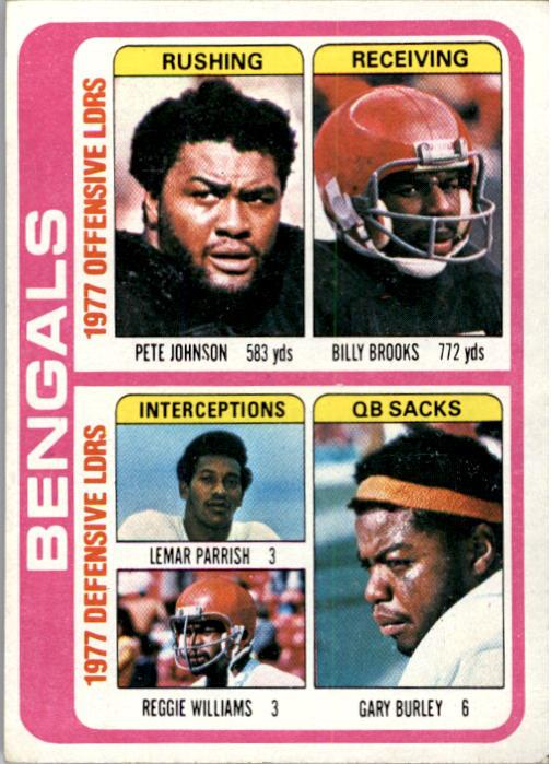 1978 Topps #505 Bengals TL/Reg.Williams