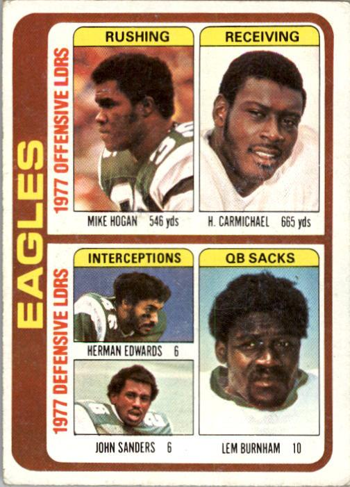 1978 Topps #521 Philadelphia Eagles TL