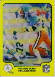 1978 Fleer Team Action #21 Houston Oilers