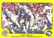 1978 Fleer Team Action #67 Super Bowl XI