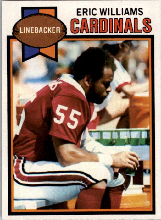 1979 Topps #203 Eric Williams LB RC