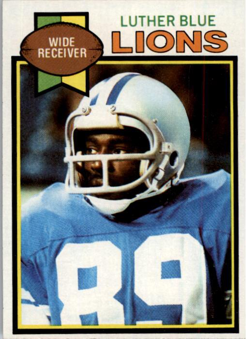 1979 Topps #427 Luther Blue RC