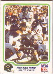 1979 Fleer Team Action #8 Chicago Bears