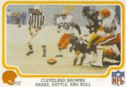 1979 Fleer Team Action #12 Cleveland Browns