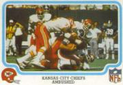 1979 Fleer Team Action #24 Kansas City Chiefs