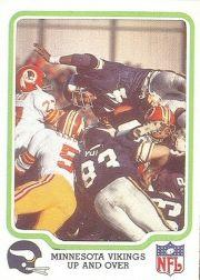 1979 Fleer Team Action #29 Minnesota Vikings