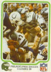 1979 Fleer Team Action #42 Philadelphia Eagles