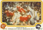 1979 Fleer Team Action #60 Super Bowl IV