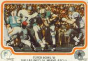 1979 Fleer Team Action #62 Super Bowl VI