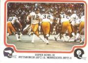 1979 Fleer Team Action #65 Super Bowl IX