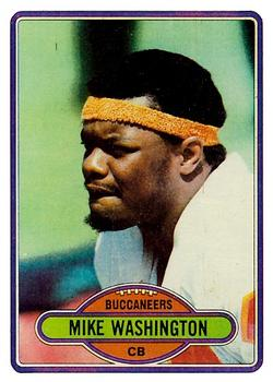 1980 Topps #46 Mike Washington