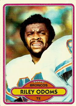 1980 Topps #51 Riley Odoms