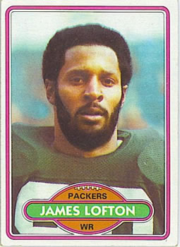 1980 Topps #78 James Lofton
