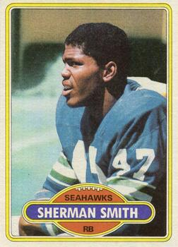 1980 Topps #87 Sherman Smith