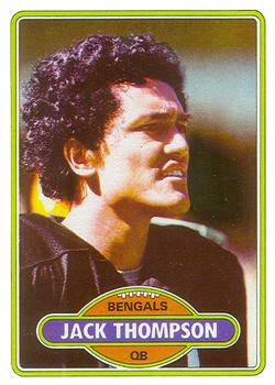1980 Topps #122 Jack Thompson RC