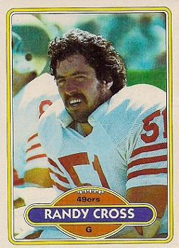 1980 Topps #123 Randy Cross