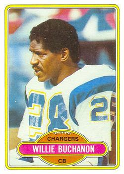 1980 Topps #149 Willie Buchanon