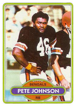 1980 Topps #153 Pete Johnson