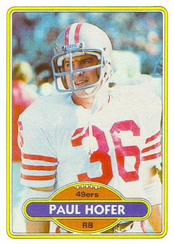 1980 Topps #178 Paul Hofer